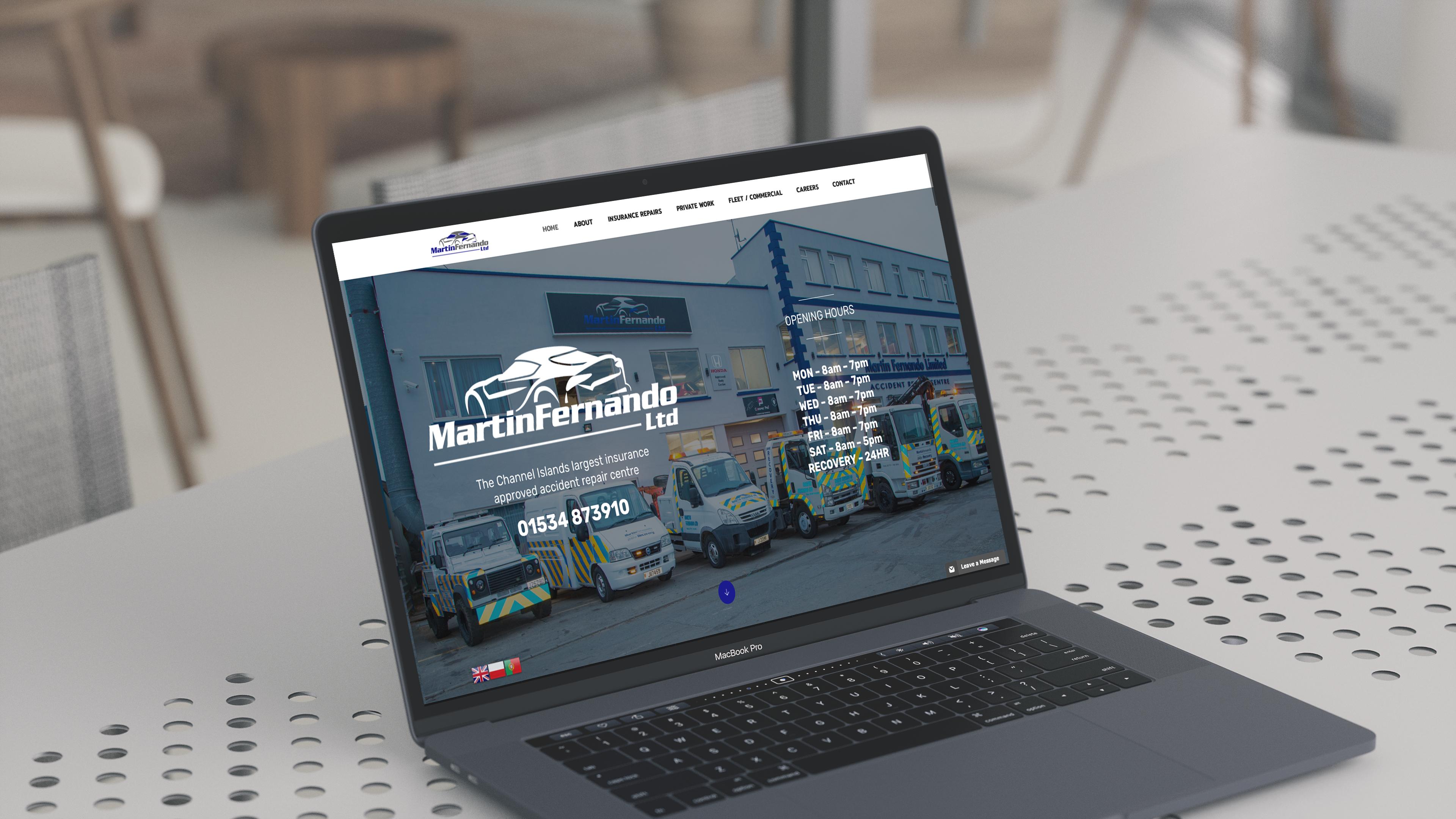 Web design Jersey
